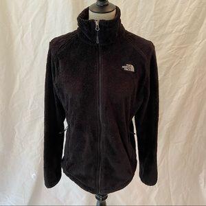 North Face black Osito fleece jacket women's M